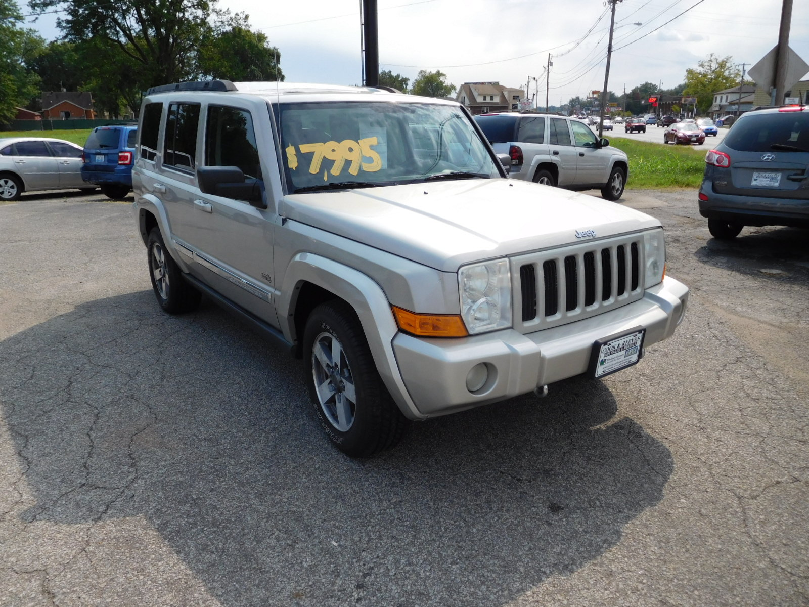 06 JEEP COMMANDER
