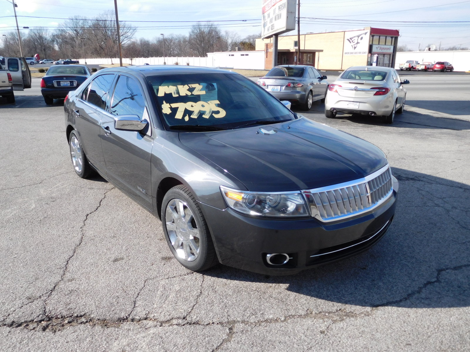 07 LINCOLN MKZ AWD