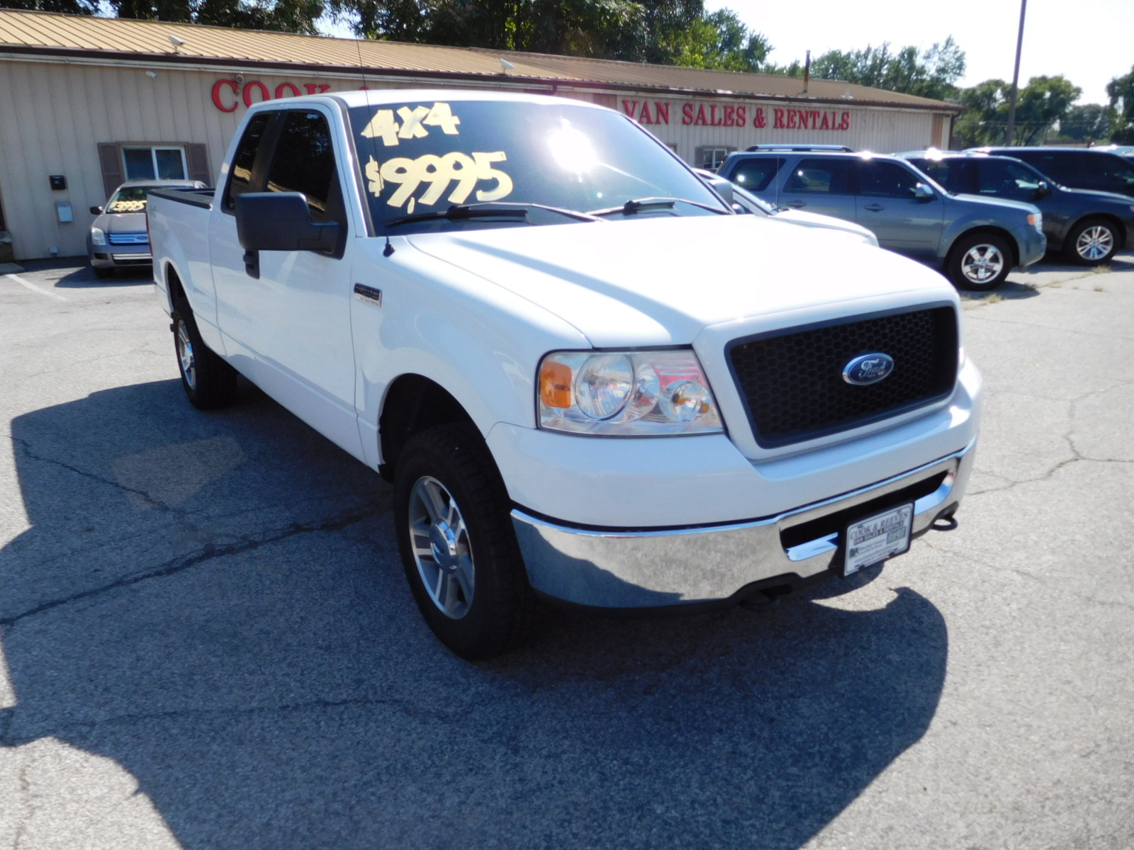 06 Ford F150 Super Cab XLT 4x4