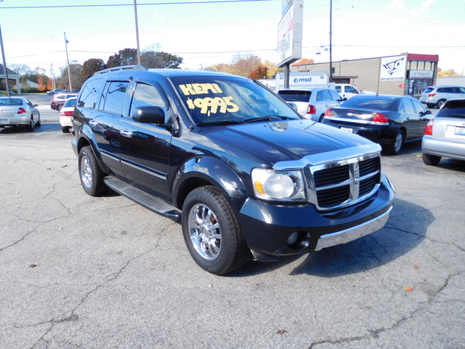 07 DODGE DURANGO LIMITED