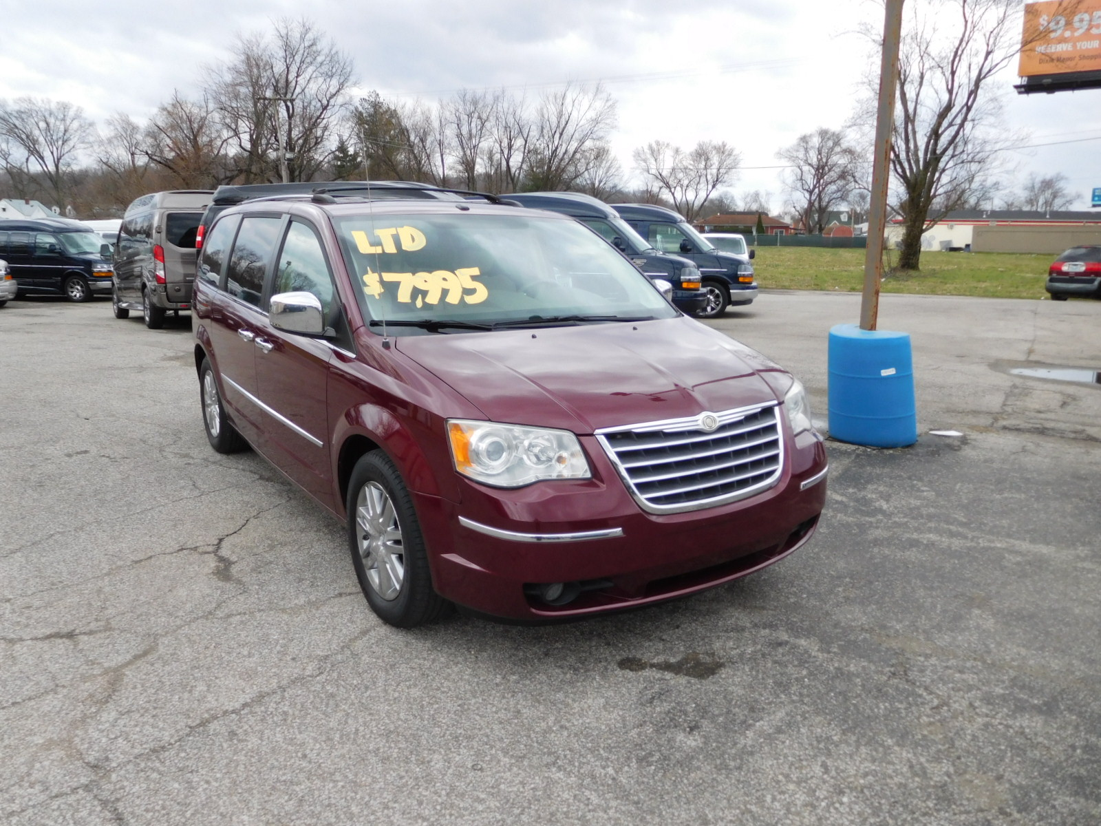 08 CHRYSLER T&C LIMITED
