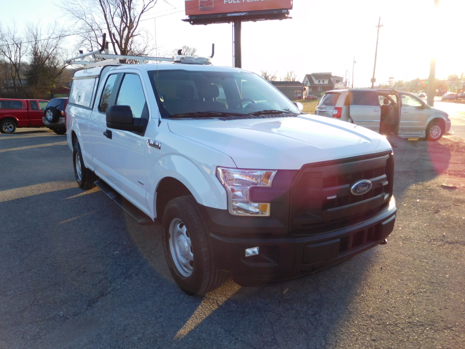 16 Ford F150 Supercab 4x4 Work Truck