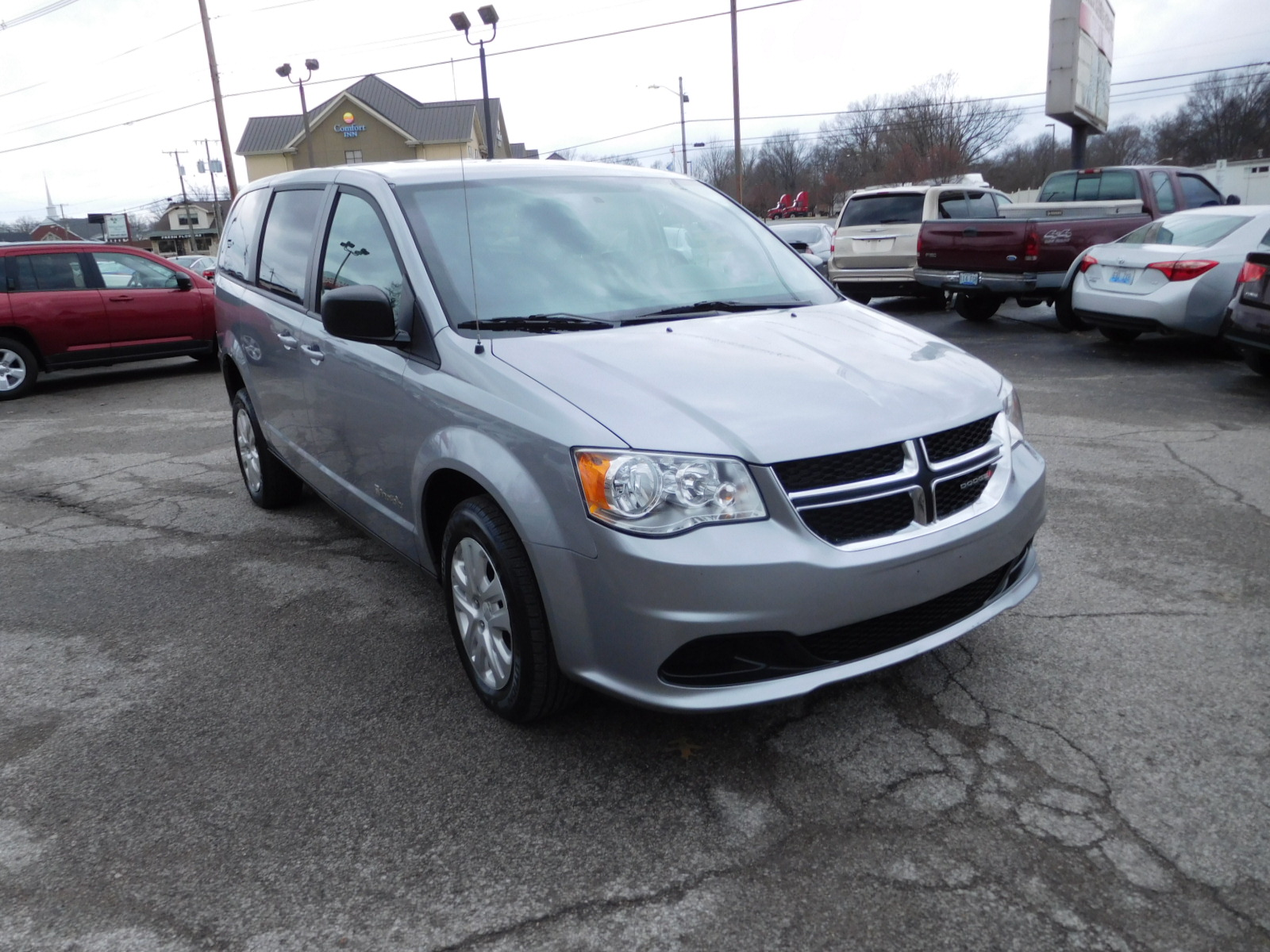18 Dodge Grand Caravan Wheelchair Accessible