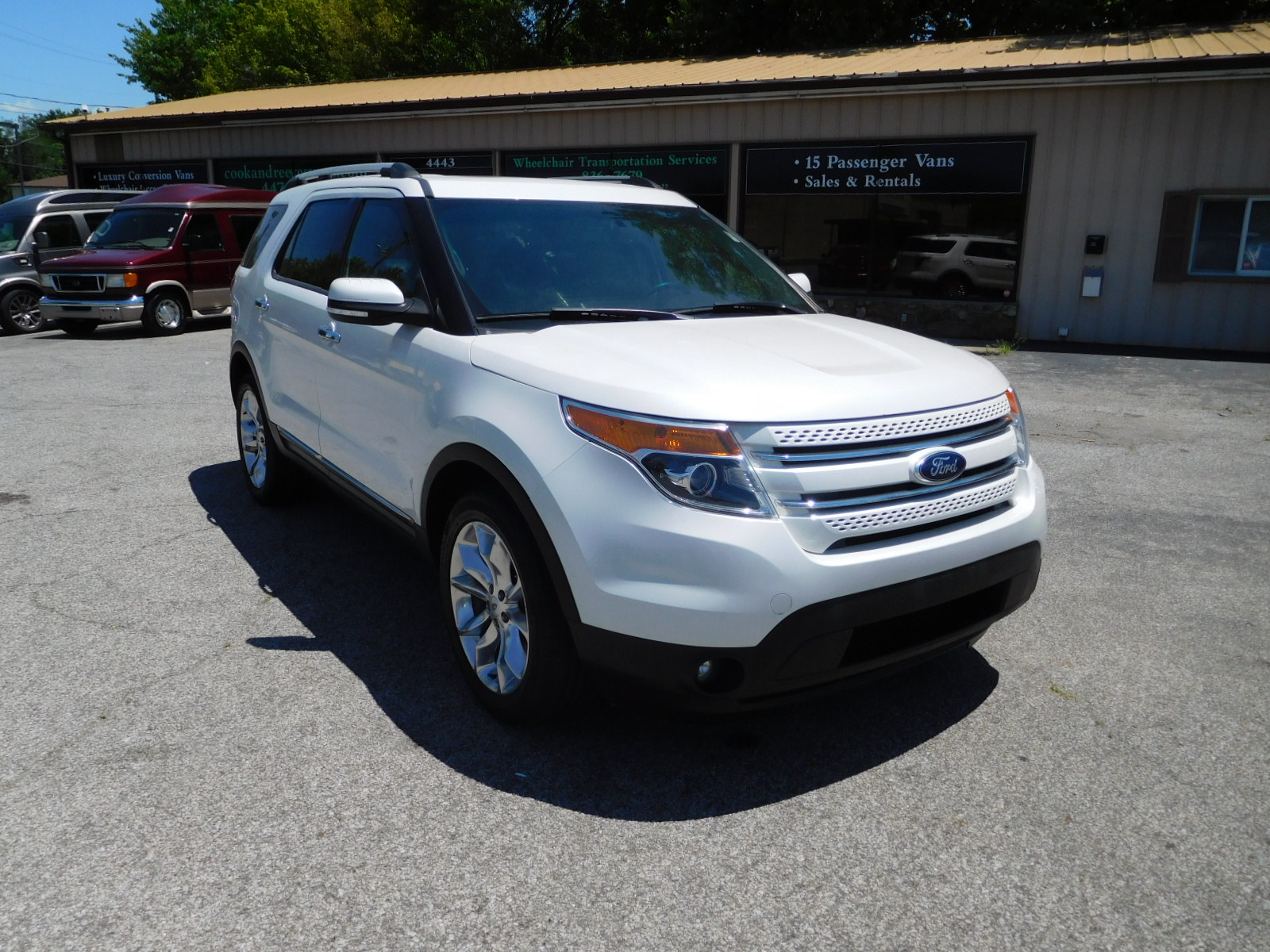 15 Ford Explorer Limited 4x4
